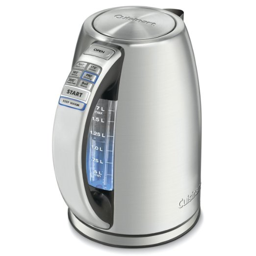 Best Electric Kettle to Heat Water Faster-cuisinart-cpk