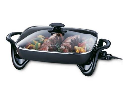 Portable Electric Skillets which Lasts 4 Times Longer-electric-skillet-with-glass-cover-5